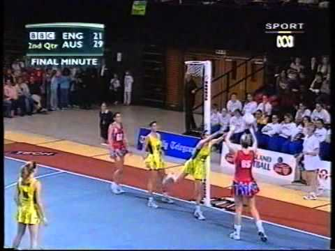 Netball: Diamonds v England Tri Series 2002 Game 3