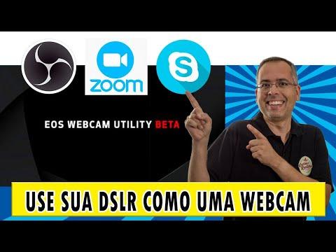 Canon EOS Webcam Utility - Como fazer lives com qualidade profissional