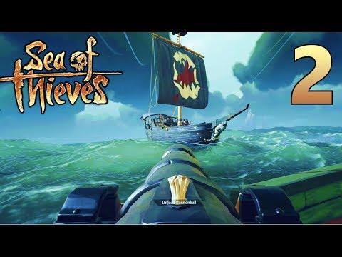 [2] THE BLUNDERBUSS! Steal Their Treasure, Sink Their Ship!!! (Sea Of Thieves Gameplay PC)