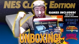 I FINALLY GOT AN NES CLASSIC!!! - NES CLASSIC UNBOXING/GAMEPLAY!