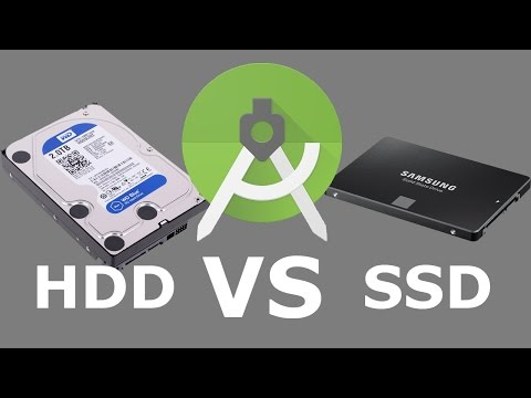 Android Studio Performance - HDD Vs SSD