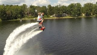 JET SHOES OVER LAKE!!