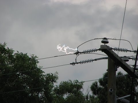 High Tension Wire Catches Fire Sparking in Delhi NCR caught on camera