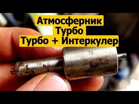 Распылитель форсунки на двигатель смд-22 (атмосферный, турбо, турбо +интеркулер).