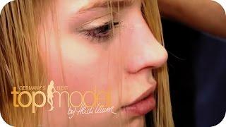 Germany's next Topmodel Staffel 7 | Umstyling: Sara mag ihre neue Frisur