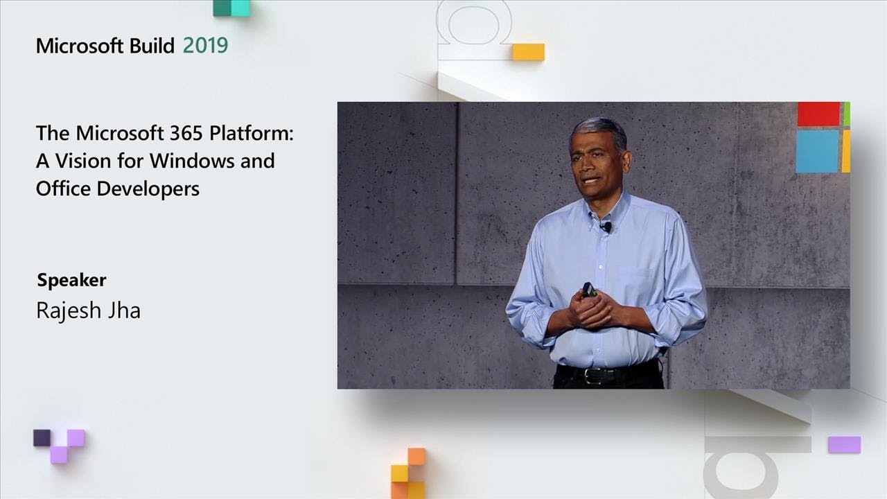 The Microsoft 365 Platform: A Vision for Windows and Office Developers - TK02 image