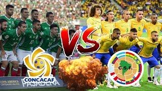 LA FIFA PLANEA UNIR LA CONMEBOL CON LA CONCACAF