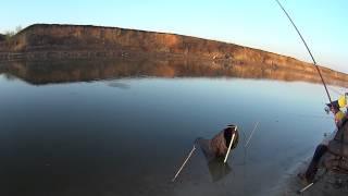 Весенняя рыбалка на Цимлянке 28 апреля 2015 г