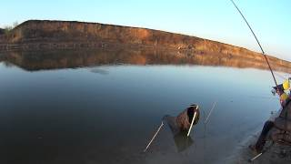 Весняна рибалка на Цимлянке 28 квітня 2015 р