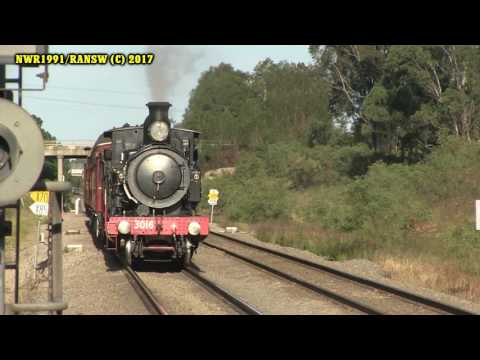 Rail Around New South Wales June 2017 | Hunter Valley Steamfest 2017
