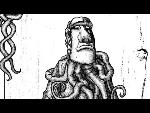 Painter 12: Creating a woodcut style illustration for a prop book