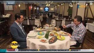 Misina Balık Restaurant Vedat MİLOR NTV Tadı Damağında Proğramı'da