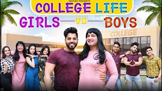 Girls Vs Boys In College Life || JaiPuru