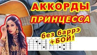Принцесса Аккорды 🎸 Бабек Мамедрзаев ♪ Разбор песни на гитаре ♫ Бой Текст