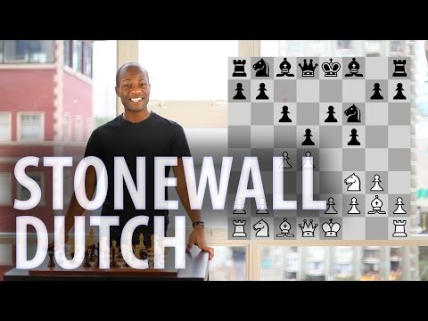 Chess openings - Stonewall Dutch