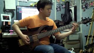ABBA - Bass cover Medley (gimme gimme/voulez-vous/under attack/Mamma Mia/super trouper/Wateroo)