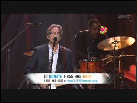 Eric Clapton Got to Get Better in a Little While LIVE 121212concert