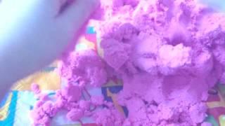 Как сделать торт из гигиенического песка 2 часть