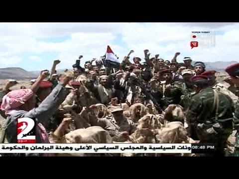 فيديو: قائد الحرس الخاص لعلي عبدالله صالح يشهد تخرج مقاتلين من قبائل طوق صنعاء