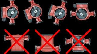 видео Насос циркуляционный для отопления: правила монтажа