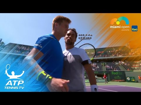 Fritz, Fognini earn first round wins | Miami Open 2017 Highlights Day 1