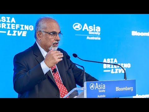 TN Ninan Opens the Economic Panel at Asia Briefing LIVE