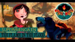 THE FLAME IN THE FLOOD - El jabalí asesino   GAMEPLAY ESPAÑOL