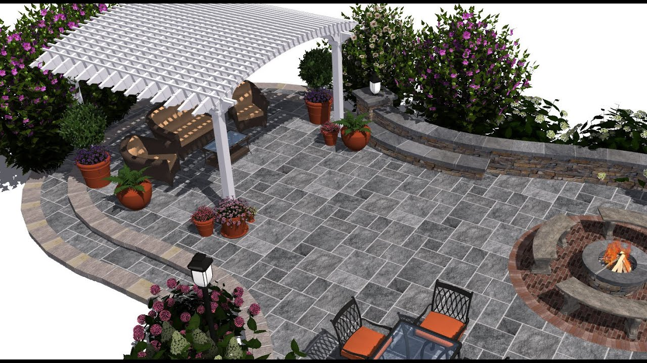3d patio design getting started tutorial