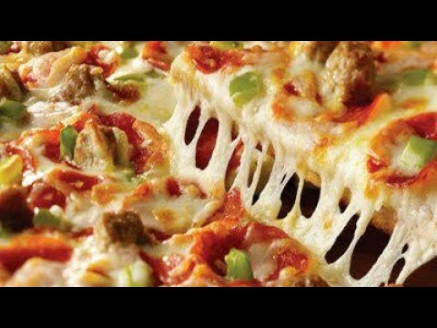 صورة  طريقة عمل البيتزا أسهل طريقة لعمل بيتزا الفراخ 🍕🍕🍕🍕 طريقة عمل البيتزا من يوتيوب