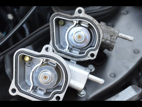 Mercedes Benz e270 w211 thermostat replacement