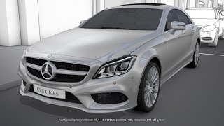 CLS: Parking package with 360° camera - Mercedes-Benz original