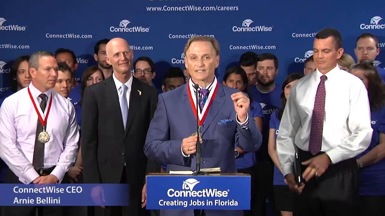 FL Governor Rick Scott Visits ConnectWise Headquarters