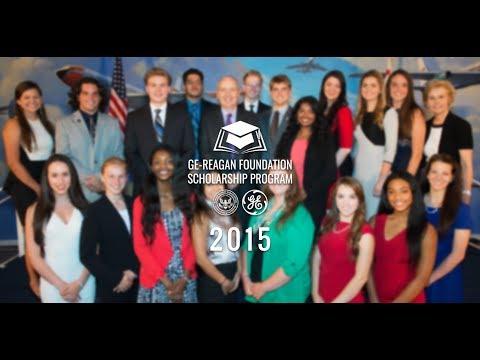 2015 GE-Reagan Foundation Scholarship Program