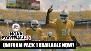 NCAA Football 14: Uniform Pack 1 Available Now!