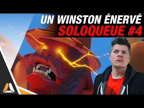 L'ÉNERVEMENT D'UN WINSTON ! ► ALPHA EN SOLOQUEUE #4 - OVERWATCH FR