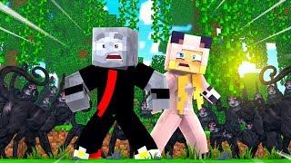 MUTANTEN AFFEN GREIFEN uns AN?! - Minecraft [Deutsch/HD]