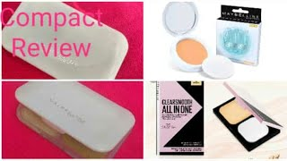 Maybellin new york compact | clearsmooth +oil control +lightweight | Mayballine white superfresh |