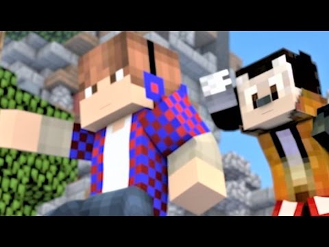 """Minecraft Songs and Minecraft Animation """"Castle Raid 1-3"""" The Complete Minecraft Music Video Series"""