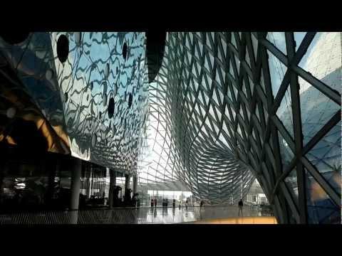 Frankfurt My Zeil Shopping Center - Einkaufszentrum In Frankfurt Am Main (720p HD)