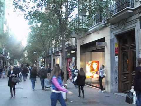 Madrid: Fuencarral and Hortaleza streets - Las calles de Fuencarral y Hortaleza