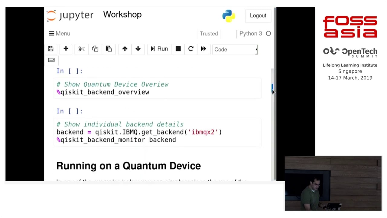 Get Started with Quantum Computing and QISKit by Matthew Treinish