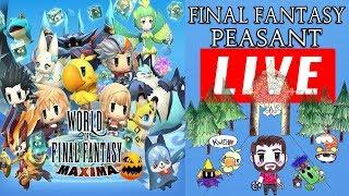 Let's play World Of Final Fantasy MAXIMA - PS4 playthrough - Conquering Enna Kros & the tea girl!