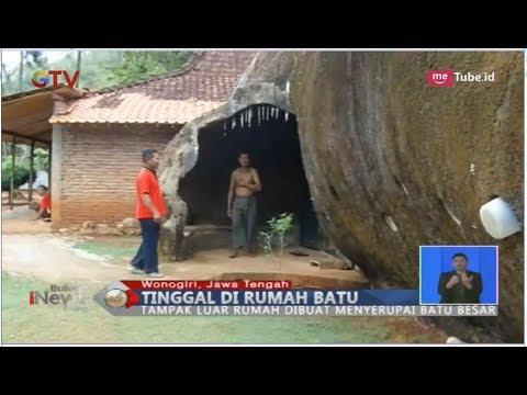 Beginilah Penampakan Rumah Batu Ala Flintstones Di Wonogiri - BIS 01/12
