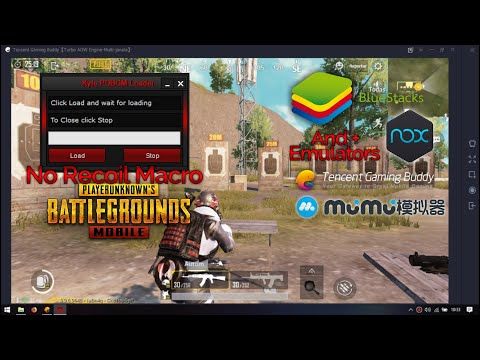 PUBG Mobile Emulator No Recoil Macro with Kyle - YouTube