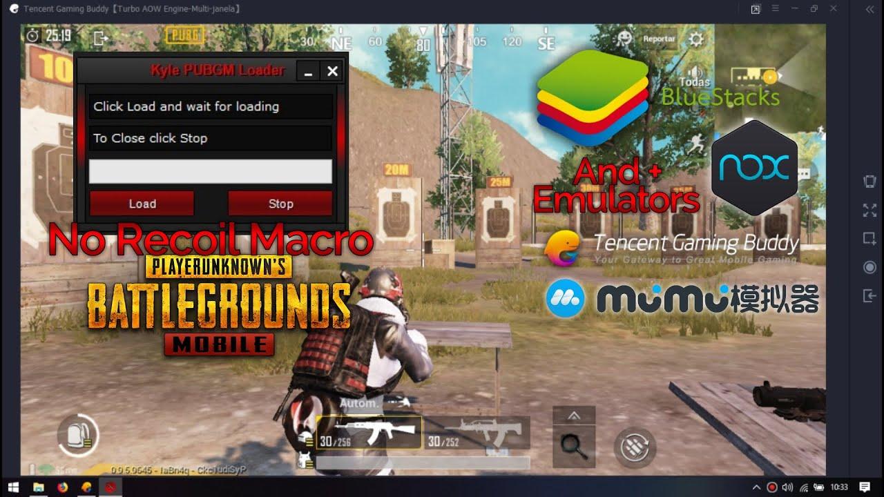 PUBG Mobile Emulator No Recoil Macro with Kyle