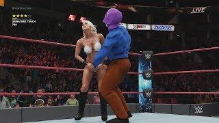 レイプマン vs Maryse WWE2k18
