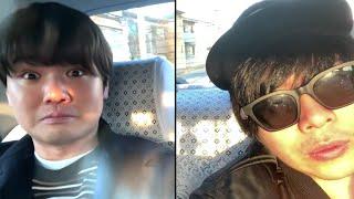 YouTubeの苦悩やプライベートを帰りのタクシーで語る男達。