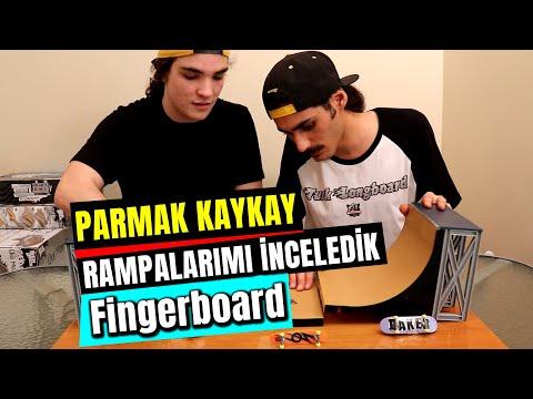 Fingerboard Rampalarımı Hunter Simpson&39;la Test Ettik