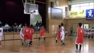 My son played Tokyo junior high school basketball summer games at  2012