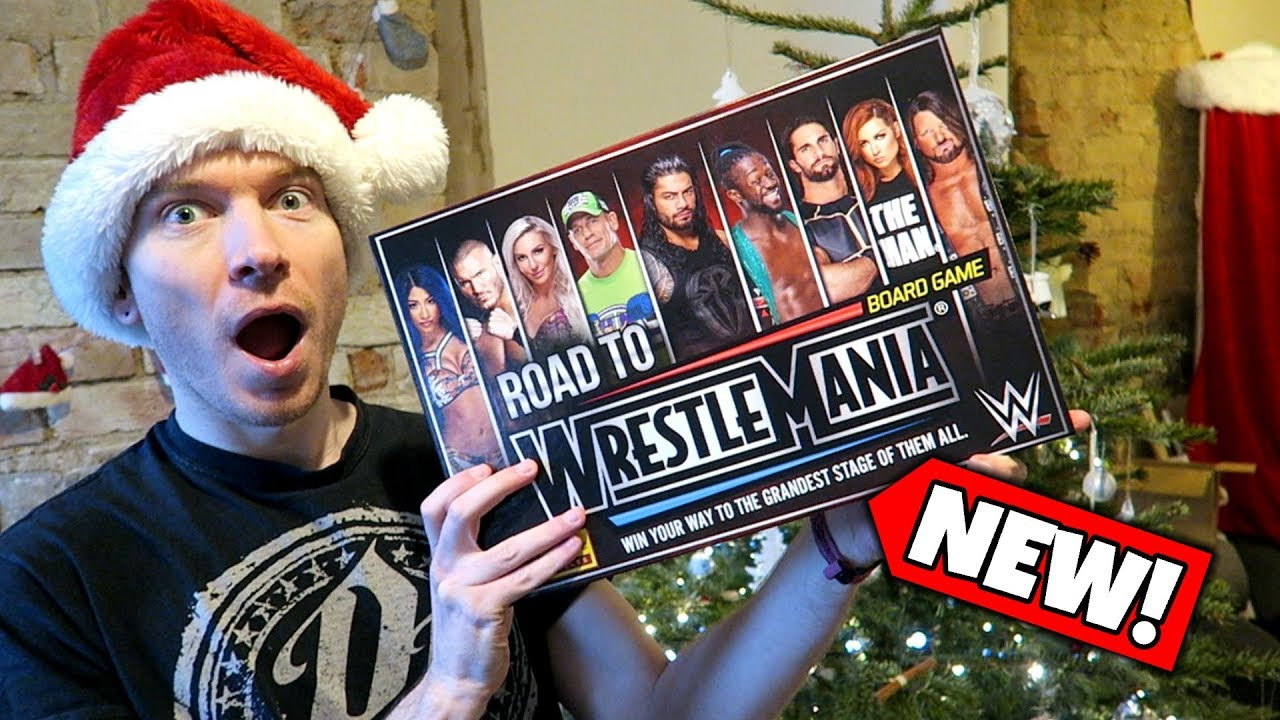 NEW WWE Road To Wrestlemania Board Game FIRST LOOK!